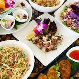 【2時間飲み放題付】南国気分を堪能★美味しくお得に沖縄料理を満喫♪『リゾート女子会プラン 』
