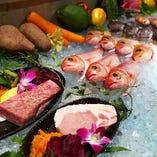 山海の幸たっぷり♪厳選食材を使った沖縄創作料理お召し上がりください