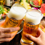 沖縄といえばこれ!キンキンに冷えたオリオンビールで乾杯☆