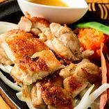 沖縄県産 やんばる若鶏鉄板焼き