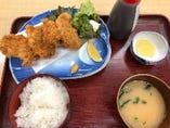 三崎産アジフライ膳