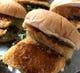 大好評!元祖地魚バーガー内容日替りで販売中サクフワで美味しい