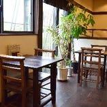まるでおしゃれなカフェのような雰囲気は、居心地も良い。