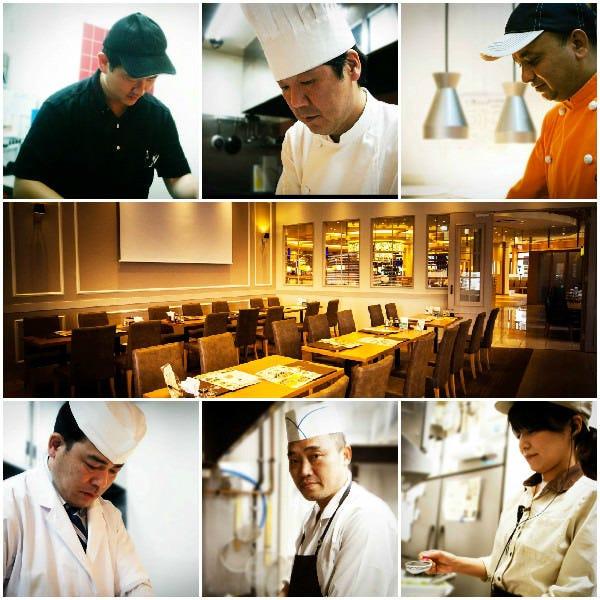 6つの選べるレストラン