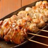 コッコちゃんの串ものは「国産鶏肉」にこだわっています!