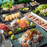自慢の創作和食が味わえる飲み放題付宴会コースは2980円~◎