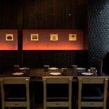特別なテーブル席【4~8名様】宴会や女子会にも最適!衝立で仕切られた空間です