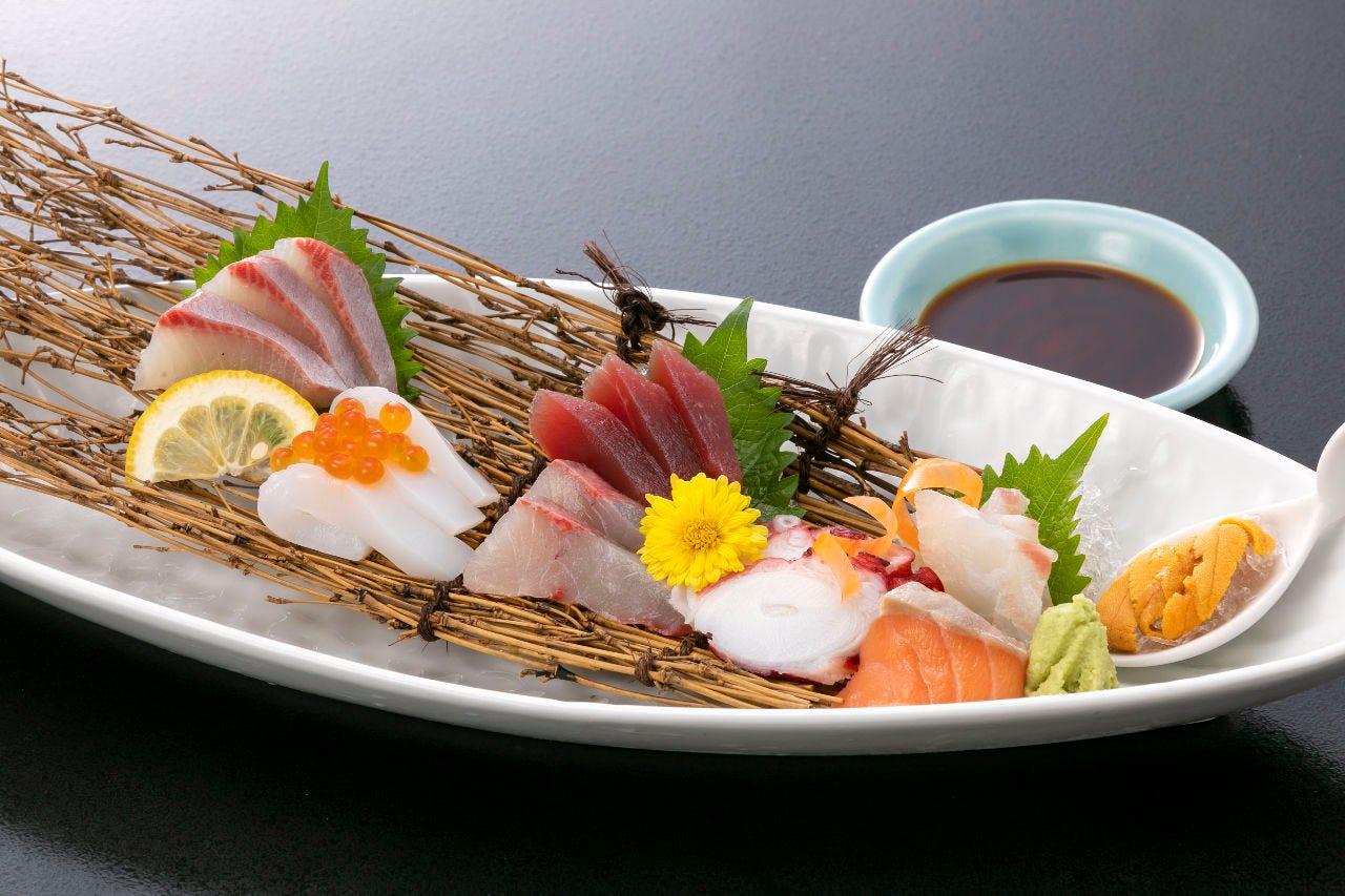 新鮮魚介類!