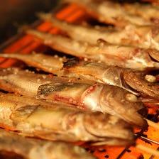 幻の魚「ハタハタ」料理