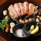 あきた錦牛 石焼きステーキ