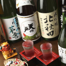 米どころ・秋田の地酒を各種ご用意