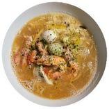 日本海産海老使用 海老ラーメン or つけ麺
