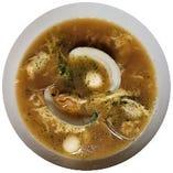 九十九里浜産蛤使用 蛤貝ラーメン or つけ麺