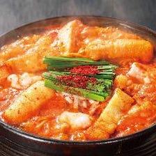 秘伝のダシの旨味が詰まった赤から鍋