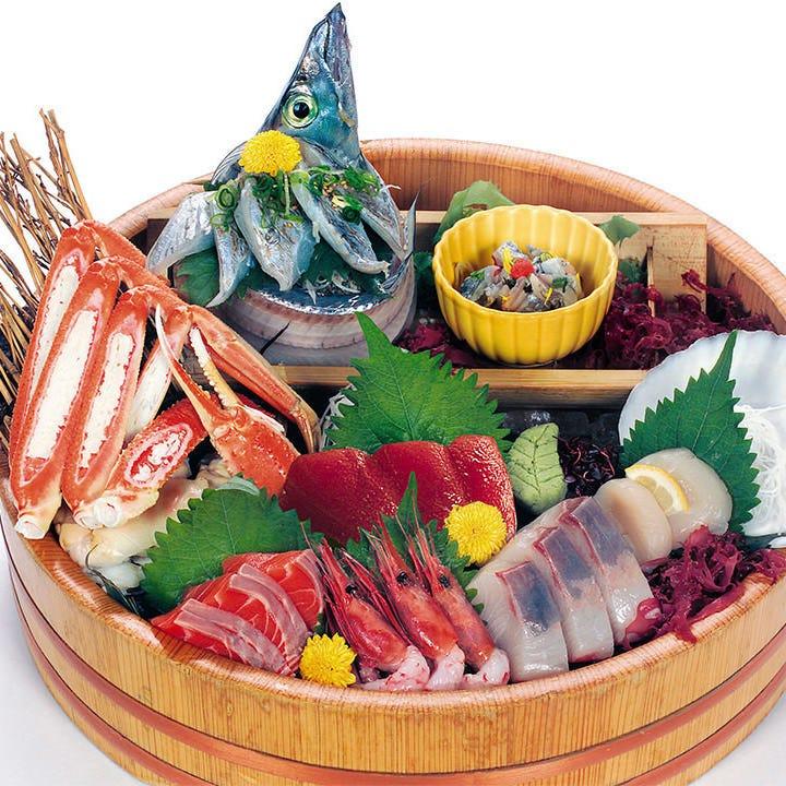 刺身・お寿司は圧巻の厚み!鮮度抜群