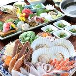 海鮮うまいもんコース 選べる2種類の絶品鍋!
