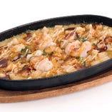 海鮮山芋焼き