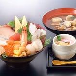 12種の海鮮丼定食