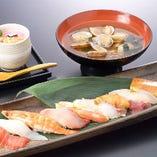 板さんおすすめ にぎり寿司定食