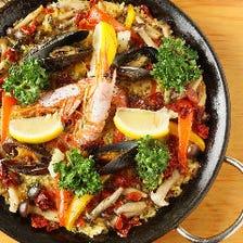 素材にこだわった本格スペイン料理