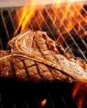 Tボーンステーキ、国産牛や和牛のグリル