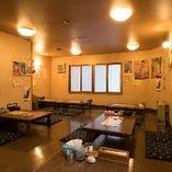 【個室感覚の宴会場貸切】最大35名様の2階小上がり宴会場