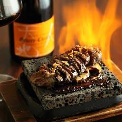 牛サーロインの陽炎ステーキ