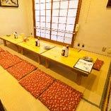 宴会個室。接待・会食に。