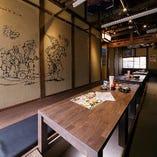 京橋店・2F掘りごたつ個室