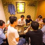 道頓堀店・3F個室(朝5時まで営業してます!)