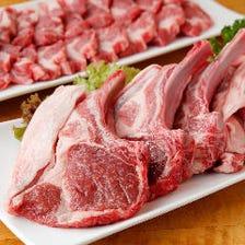 卸問屋直送の新鮮なラム肉にこだわる