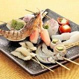 ◆新鮮魚介の串カツ◆新鮮魚介をあつあつの串揚げで!【厳選素材】