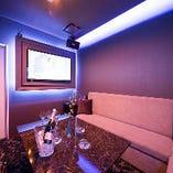 【VIP ROOM】優雅な完全個室。カラオケ付きで二次会にも◎