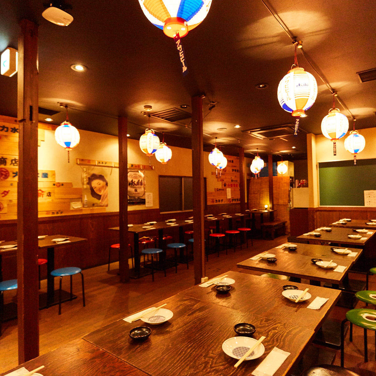 昭和の雰囲気が心地良いレトロな空間