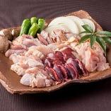 近江しゃもをはじめ、京赤地どり、淡海地鶏など上質な地鶏・銘柄鶏をご堪能いただけます