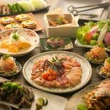 新鮮な地鶏や銘柄鶏を楽しむ鳥桜の宴会コース。中でも「近江しゃも」は必食です
