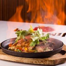 お客様の目の前で作るメキシコ料理!