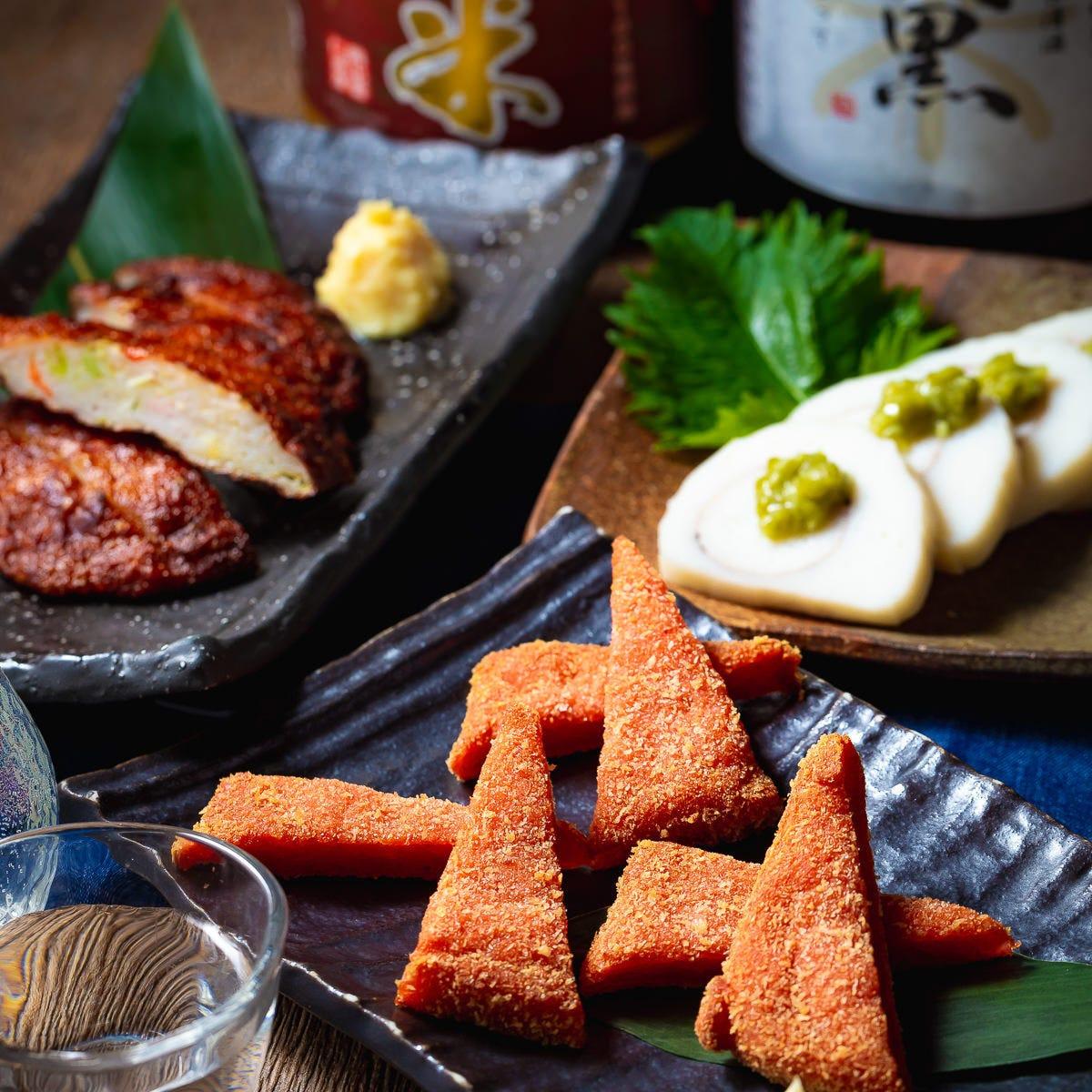 かばの名物ソウルフード。日本酒には最高のおつまみです!