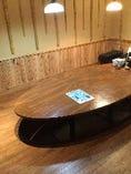 完全個室 丸テーブル