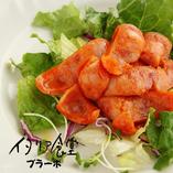沖縄県産豚のピリ辛ソーセージ