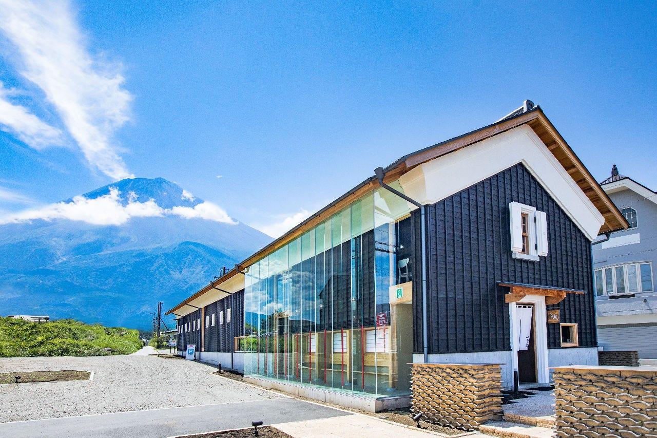 ◆富士山ビューの和モダンな空間