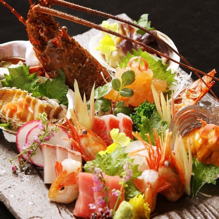 三陸鮮魚の盛り合わせ