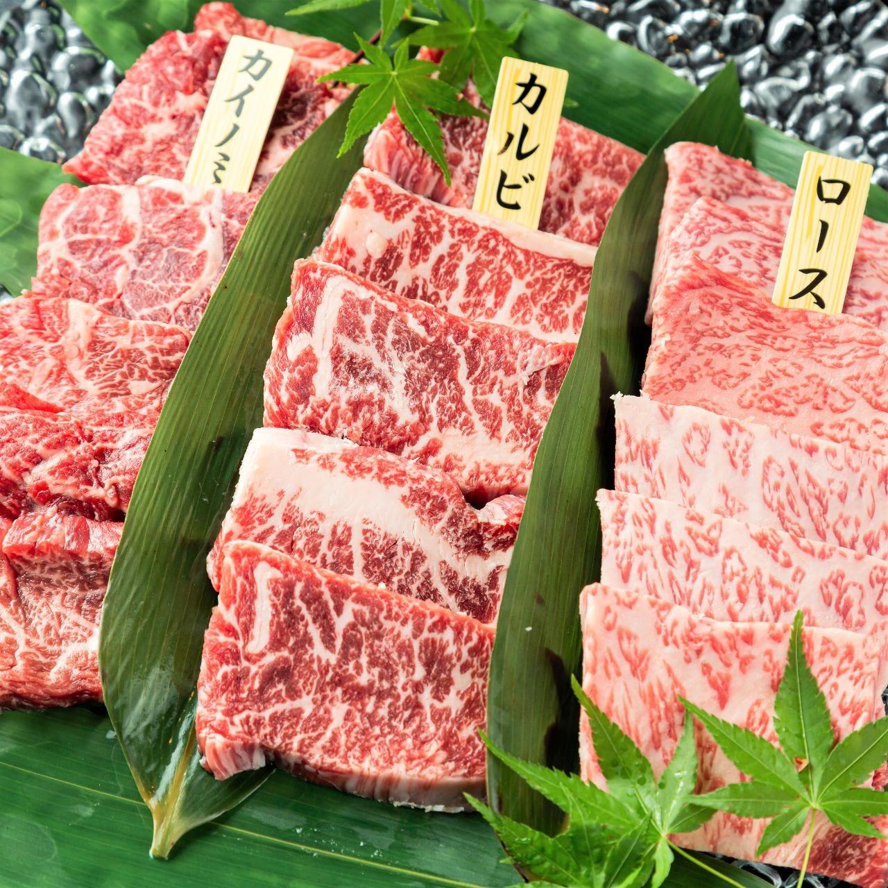 肉の美味しさを堪能できるコース
