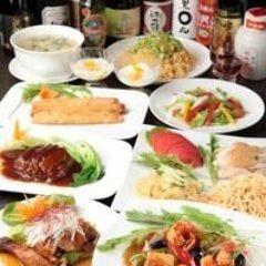 オーダー式食べ+飲み放題 =3800円