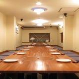 2階&3階はフロア貸切が可能。各種ご宴会に!