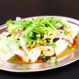 タイ風ピータン豆腐