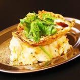 ポテサラ カイダオ(ポテサラ目玉焼きのせ)