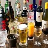 飲み放題を30分延長 or 乾杯に最適なワンドリンクサービス