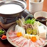 ぶりしゃぶ鍋(要予約)