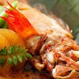 旬魚の煮付け